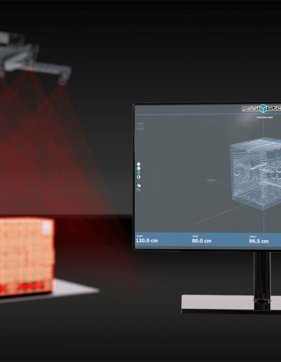palletcube - pallet dimensioner - software / interface