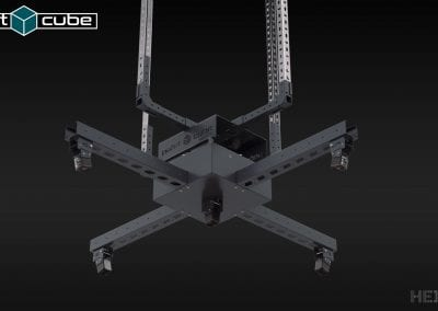 palletcube - pallet dimensioner - ceiling mount (detail)